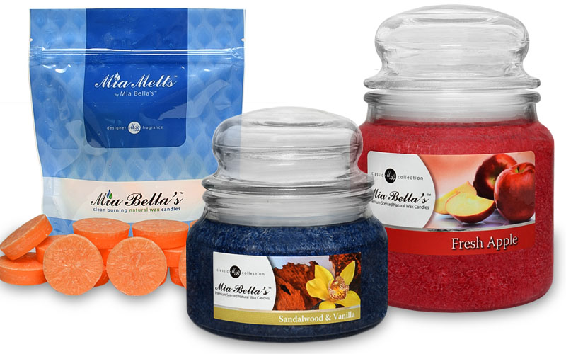 Mia Bellas Candles Clearance Sale Products